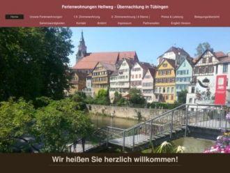 Logo der Firma Ferienwohnungen Hellweg - Übernachtung in Tübingen