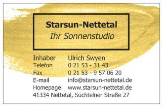 Firma Sonnenstudio Starsun-Nettetal aus Nettetal