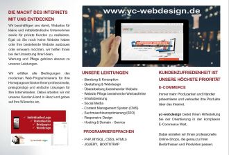 Yc-Webdesign in Aachen