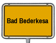Ortsschild Bad Bederkesa