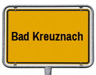 Ortsschild Bad Kreuznach