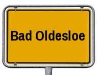 Ortsschild Bad Oldesloe